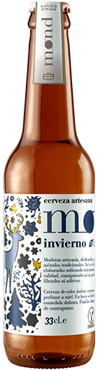 Cerveza artesana MOND Invierno elaborada en Sevilla con ingredientes 100% naturales