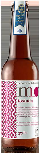 Cerveza artesana MOND Tostada elaborada en Sevilla con ingredientes 100% naturales. Mejor cerveza artesana del mundo por el iTQi