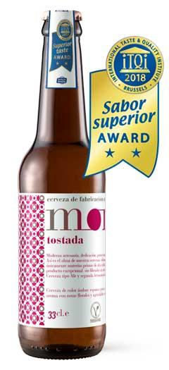 Botella Mond Tostada con premio itqi 2018