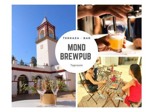 MOND BREWPUB un nuevo espacio donde disfrutar de todas nuestras cervezas maridadas con un selección de tapas en la terraza y jardines del Cortijo Mond